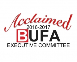 Congratulations to the newest members of the BUFA Executive Committee!